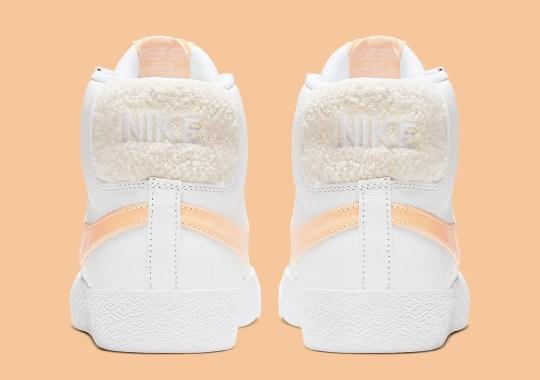 This Nike SB Blazer Features Plush Heel Tabs