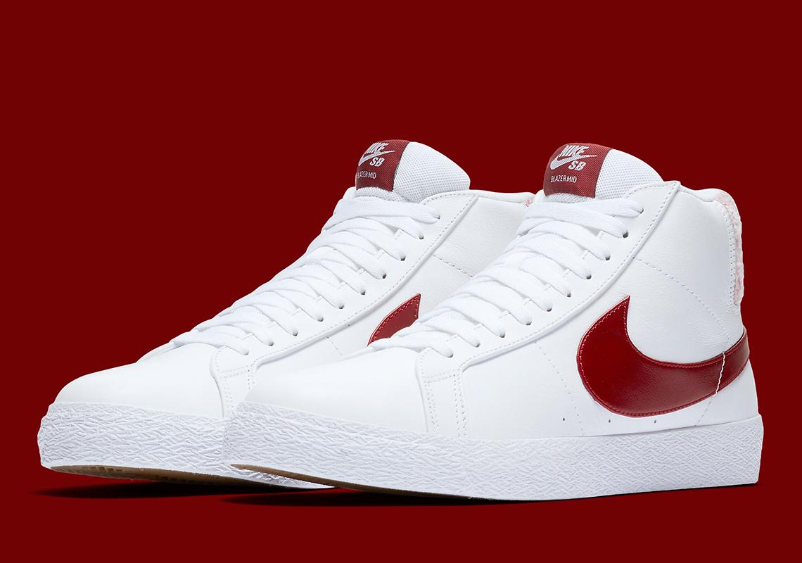 Nike SB Blazer Team Red CJ6983-101