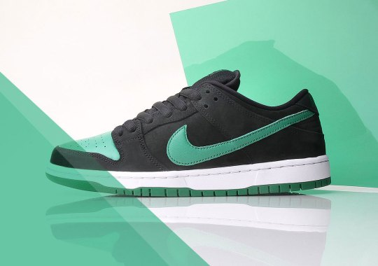 "Nike SB Brings Back The ""J-Pack"" Colorblocking On The Dunk Low"