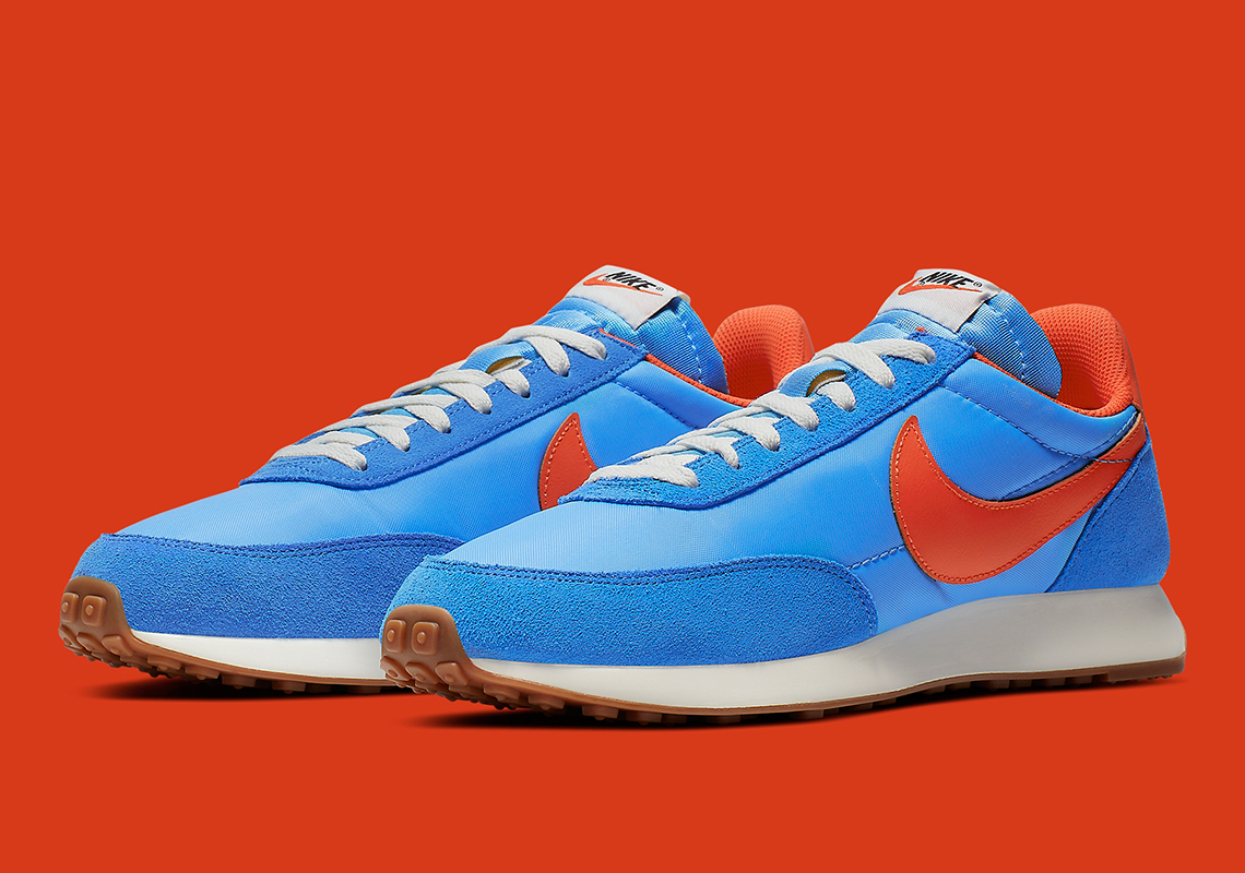 The Nike Tailwind 79 Gets A Pacific Blue And Orange Make-Up