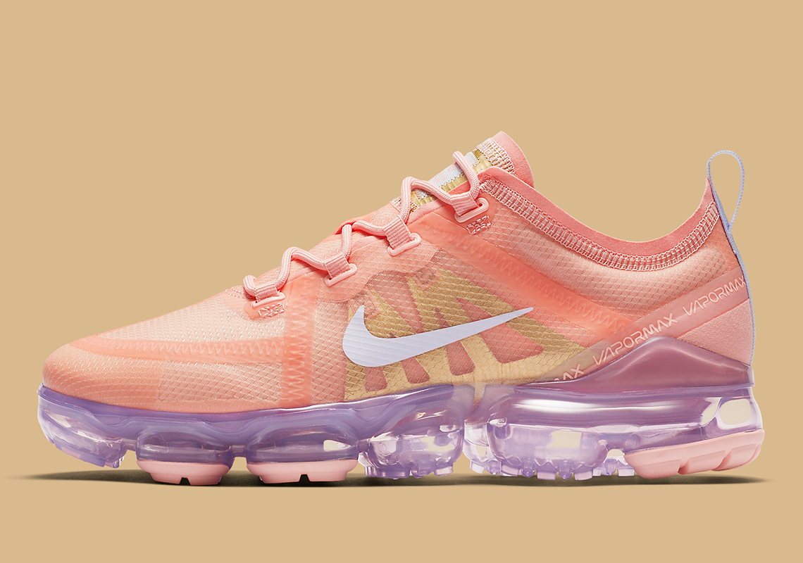 best service 23a5b f5999 Nike Vapormax 2019 Bleached Coral AR6632-603 Release Info ...
