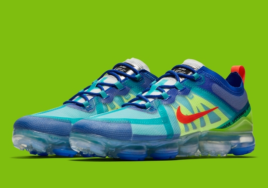 Nike Mixes Bold Summertime Tones On The Vapormax 2019