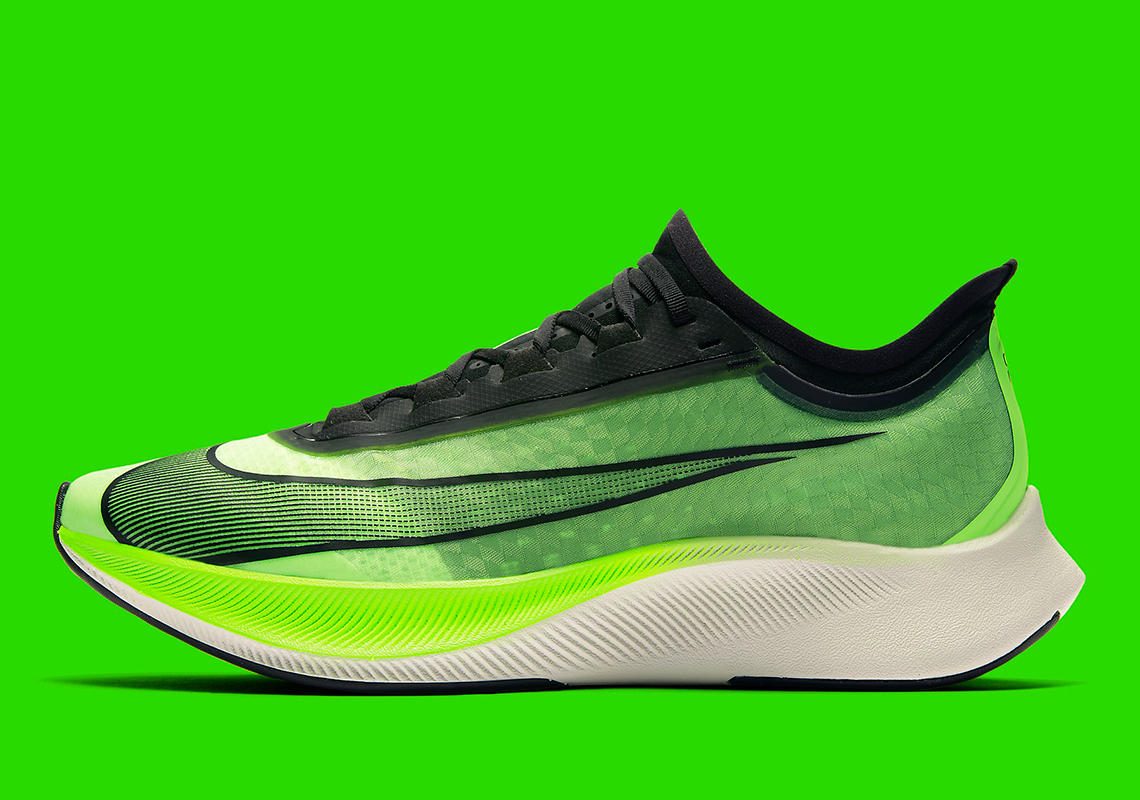Nike Zoom Fly 3 Electric Green AT8240