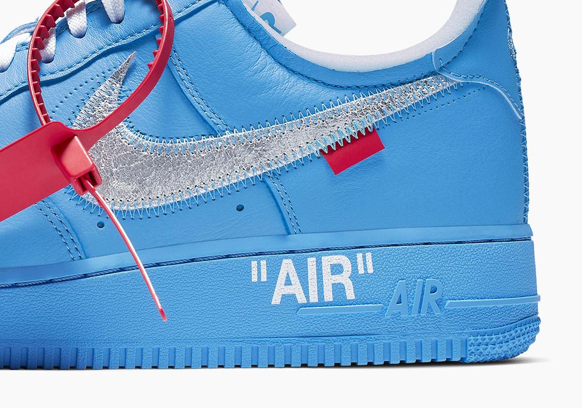 Off-White Nike Air Force 1 MCA Blue