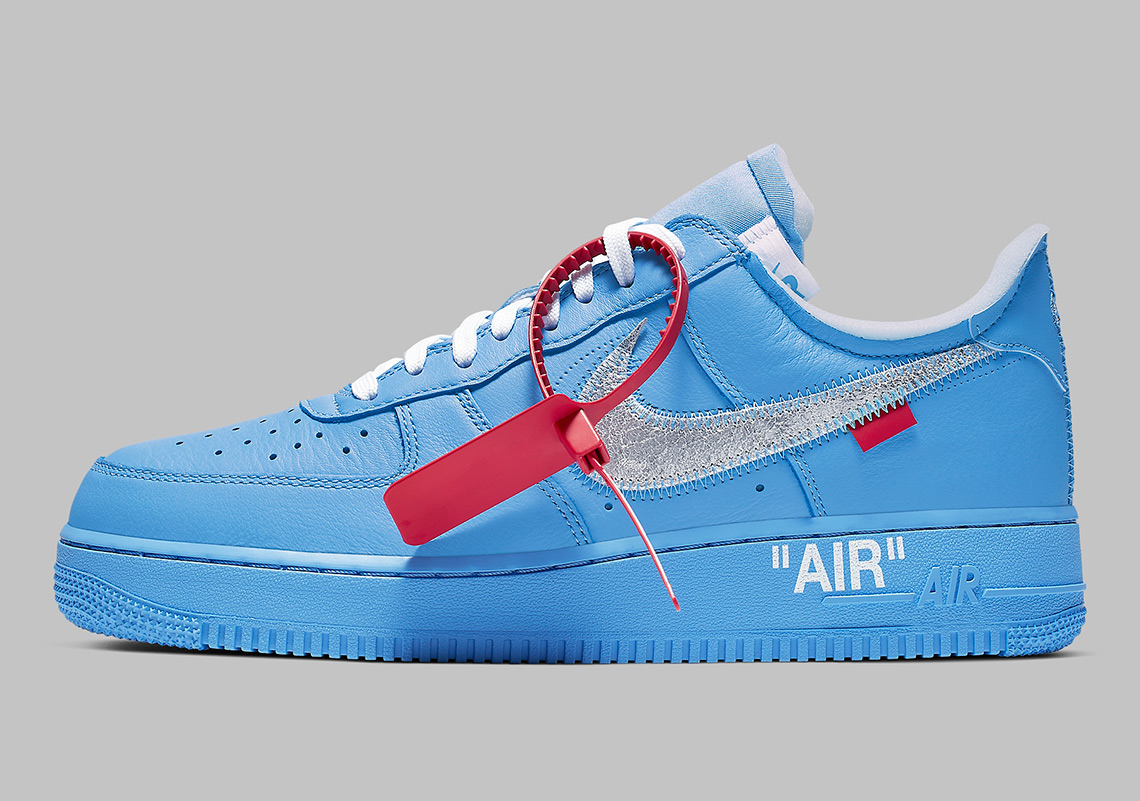 5fbb7cec713a6 Off-White Nike Air Force 1 MCA Blue CI1173-400 | SneakerNews.com