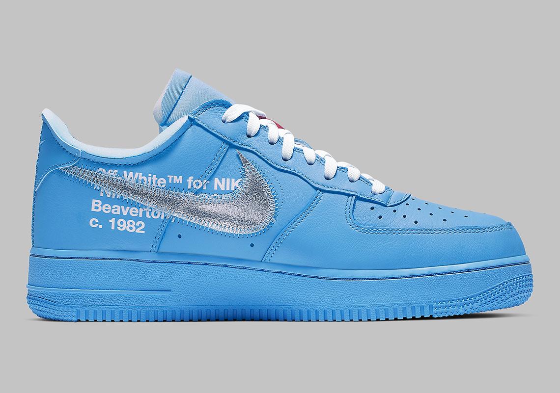 91bcbb2939c Off-White Nike Air Force 1 MCA Blue CI1173-400   SneakerNews.com