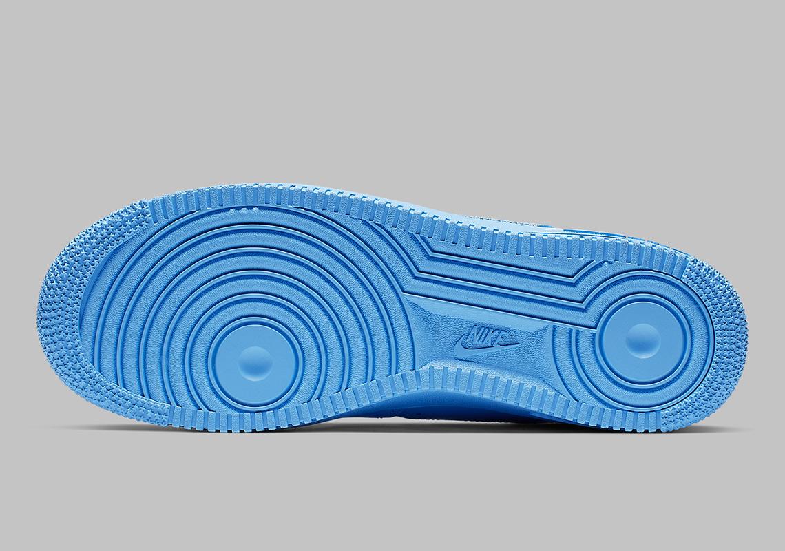 Off White Nike Air Force 1 Mca Blue Ci1173 400 Sneakernews Com