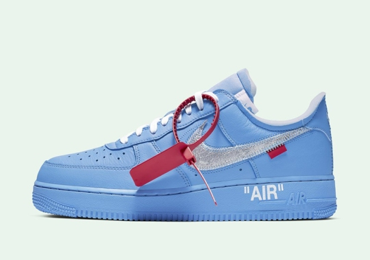 "Off-White x Nike Air Force 1 ""MCA"" Releases By Surprise"