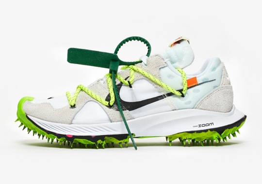 Where To Buy The Off-White x Nike Zoom Terra Kiger 5 In White