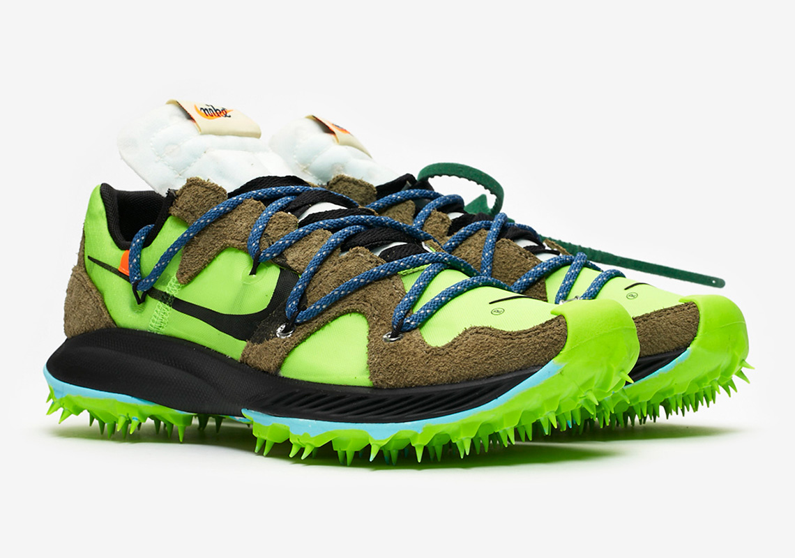 thoughts on the best attitude new high Off-White Nike Terra Kiger 5 Green CD8179-300 Store List ...