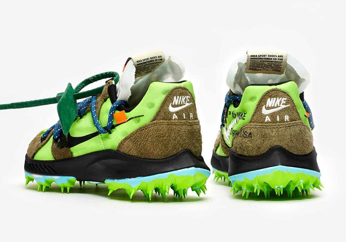 Off White Nike Terra Kiger 5 Green CD8179 300 Store List