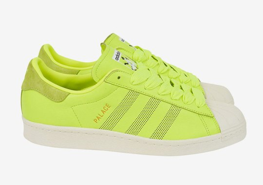 Palace Skateboards Colors Up Three adidas Superstars
