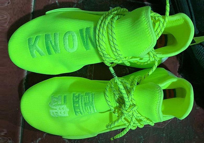 adidas NMD Hu Trail Neon Release