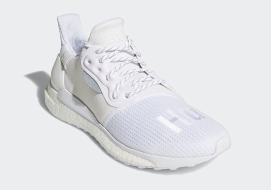 Pharrell's adidas SOLARHU Glide ST Is Coming In Triple White
