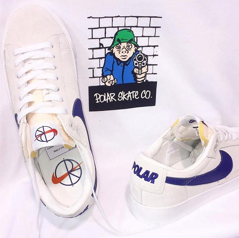 online shop sold worldwide new styles Polar Skate Co Nike SB Blazer Low Release Info | SneakerNews.com