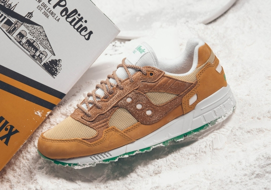 Politics And Cafe du Monde Bring New Orleans History To The Forefront With Saucony Collaboration
