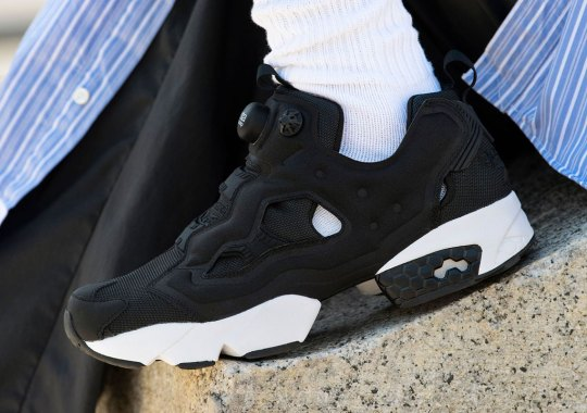 The Reebok Instapump Fury OG Is Back In Simple Black And White
