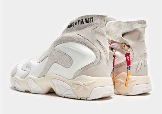 The Pyer Moss x Reebok Experiment 3 Returns With New Triple White Look