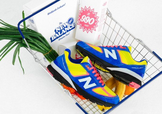 size? Honors British Corner Stores With An Exclusive New Balance 990v5