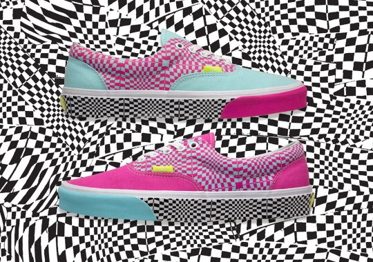 8d616b39f5723 Vans Crafts A Psychedelic Checkerboard Era Exclusively for size?