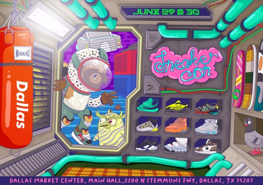 Sneaker Con Heads To Dallas For Two-Day Event