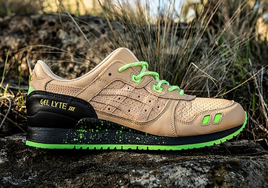 "Sneaker Freaker Presents The ASICS GEL-Lyte III ""Neurotoxic"""