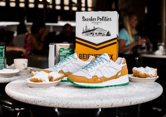 Politics Reveals An Even More Limited Saucony Shadow 5000 To Celebrate Café du Monde's 157 Years