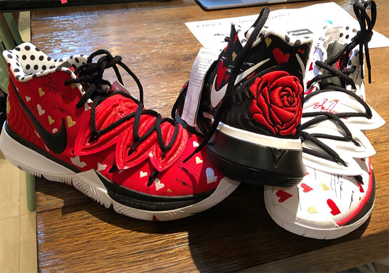 07b58bf54e4 Nike Kyrie 5 Mom Sneaker Room Shoes | SneakerNews.com