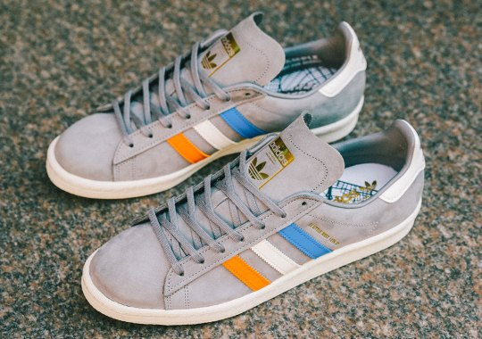 "Sneakersnstuff Creates An adidas Campus 80s ""22 Little West"" Inspired By NYC"
