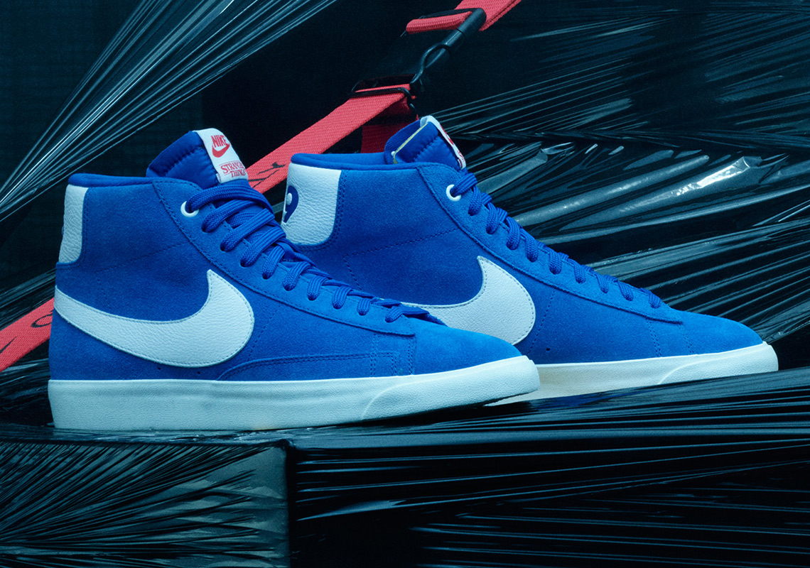 Stranger Things Nike Blazer Blue OG CK1906 400 |