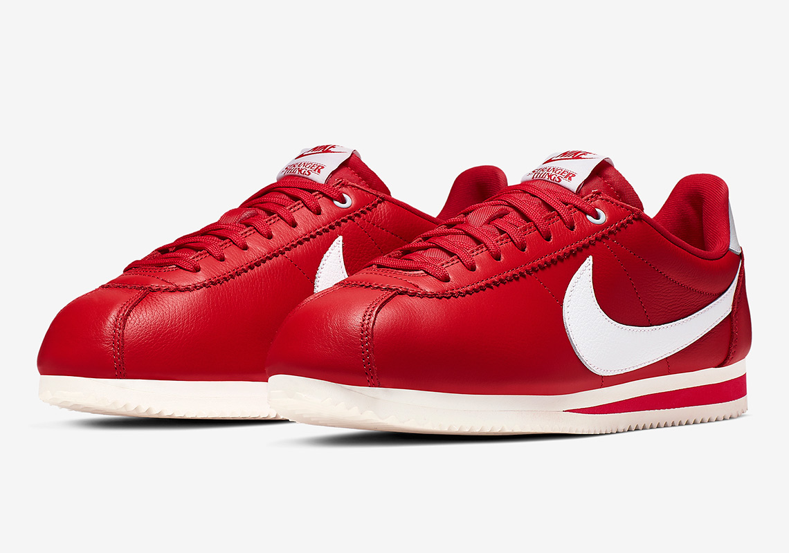 Stranger Things Nike Cortez Red OG CK1907-600 | SneakerNews.com
