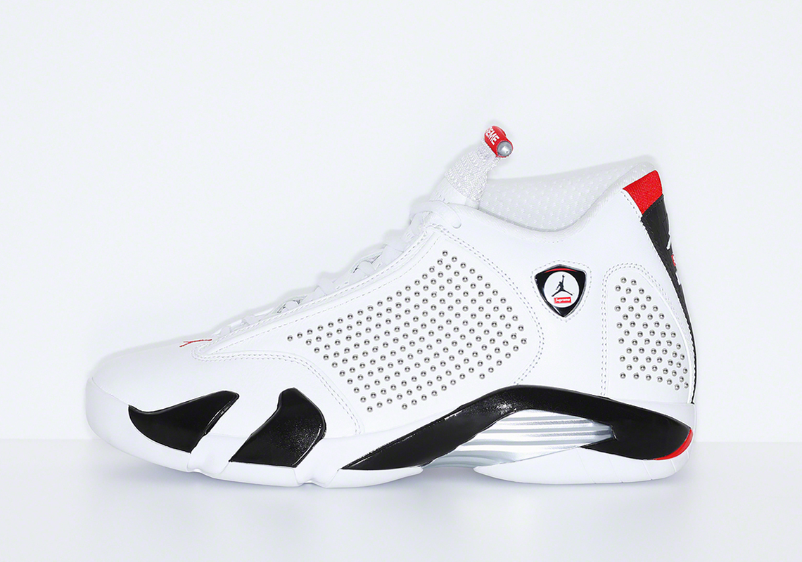 on sale f1700 635bb Supreme Jordan 14- Official Release Date + Photos ...