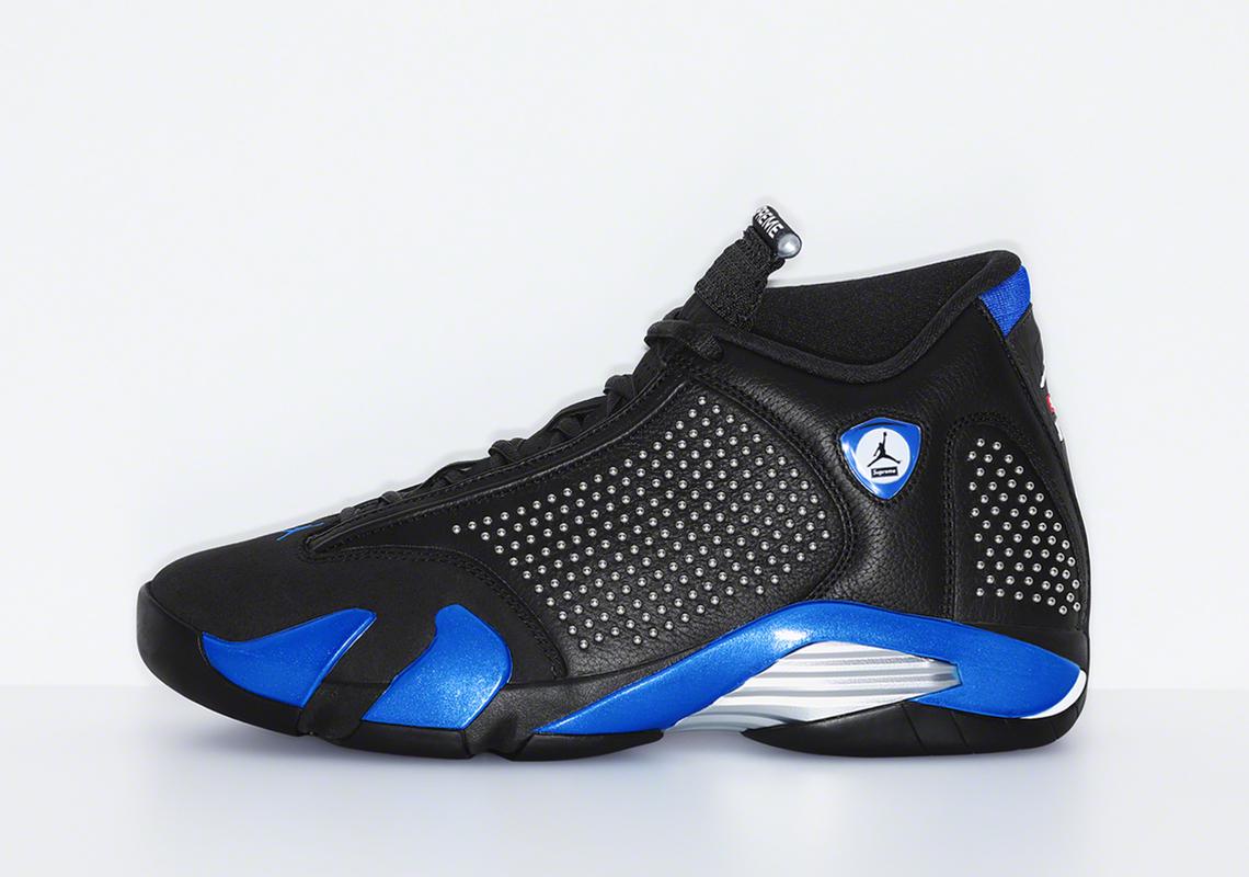 on sale 28ab4 fe386 Supreme Jordan 14- Official Release Date + Photos ...