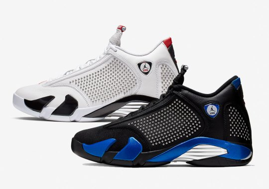 Official Images Of The Supreme x Air Jordan 14 Emerge