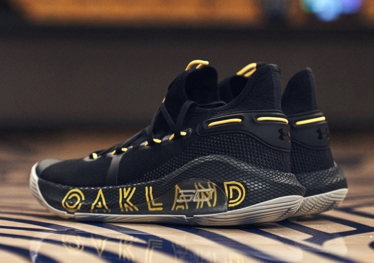 "Steph Curry Gifts The UA Curry 6 ""Thank You, Oakland"" To 30 Special Bay Area Individuals"