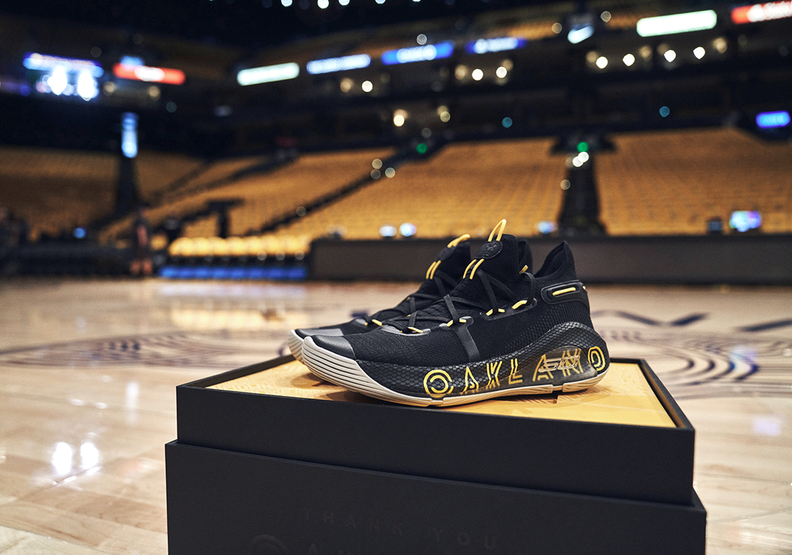 Ua Curry 6 Thank You Oakland Giveaway Sneakernews Com