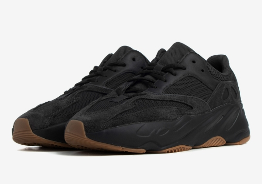 """The adidas Yeezy Boost 700 """"Utility Black"""" Releases Tomorrow"""