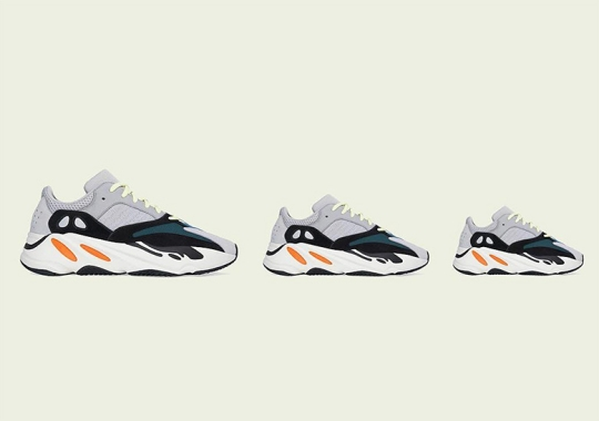"""The adidas Yeezy Boost 700 """"Waverunner"""" Is Releasing Again In Full Family Sizes"""