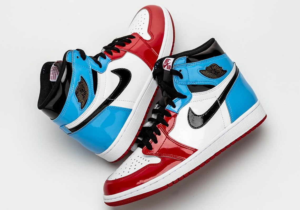 finest selection bad72 41771 Air Jordan 1 Fearless CK5666-100 UNC Chicago Release Info ...
