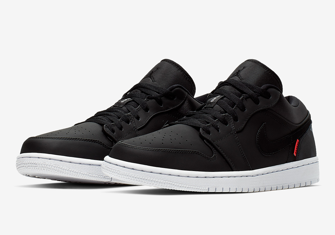 Air Jordan 1 Low Psg Ck0687 001 Release Date Photos