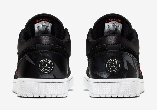 Official Images Of The Air Jordan 1 Low PSG