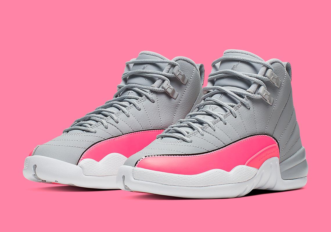 Jordan 12 Racer Pink 510815-060 Girls