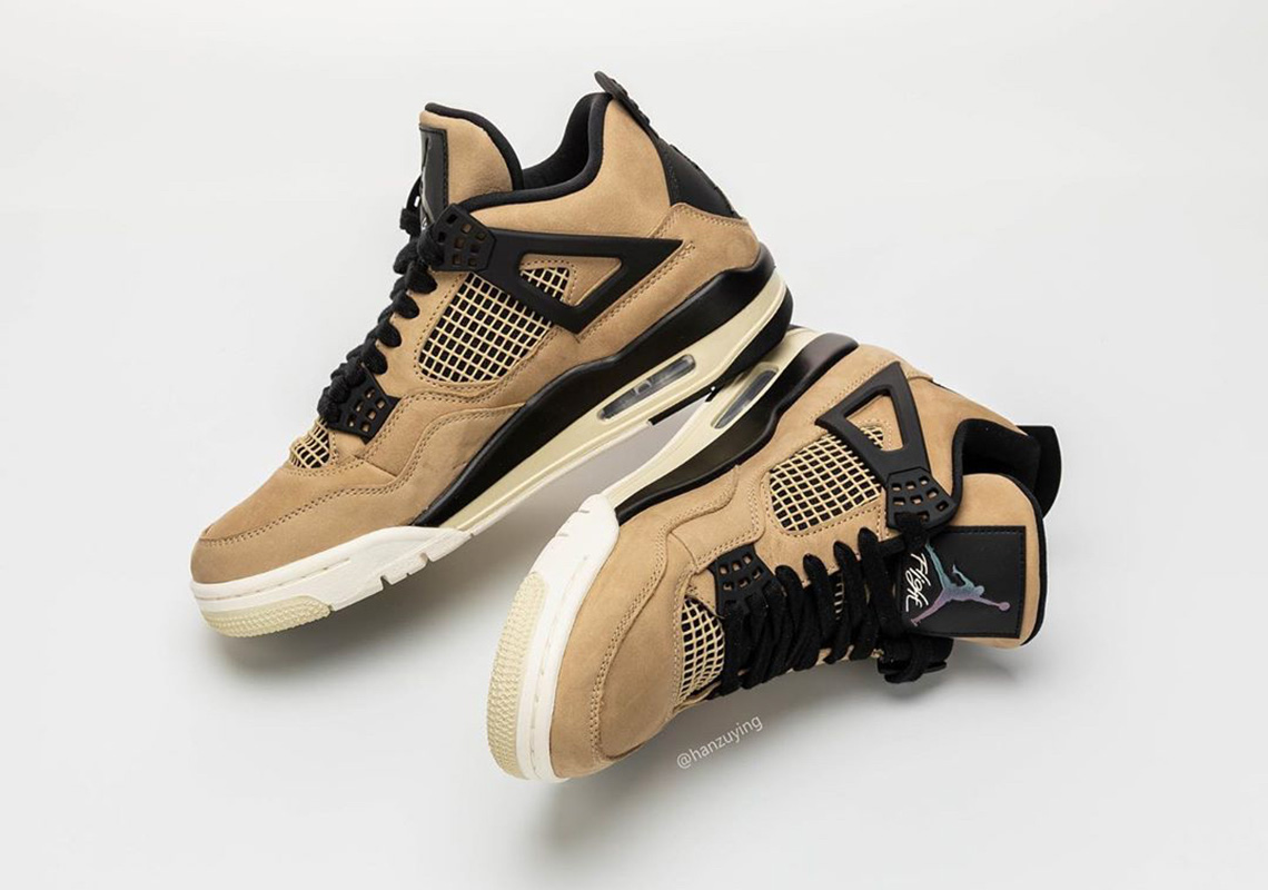brand new 4cb3e eb054 Air Jordan 4 Mushroom AQ9129-200 Release Info | SneakerNews.com