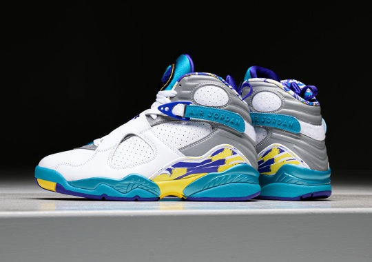 "Where To Buy The Air Jordan 8 ""Aqua"""