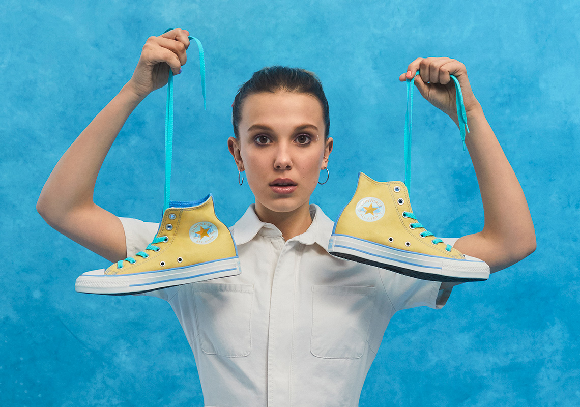 Millie Bobby Brown Converse Chuck Taylor By You Release Date Sneakernews Com