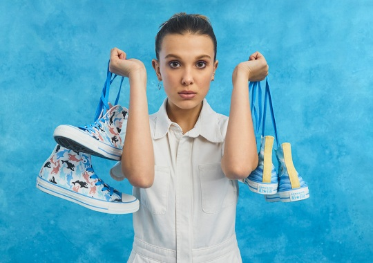 Stranger Things Star Millie Bobby Brown And Converse To Launch Millie By You Collection