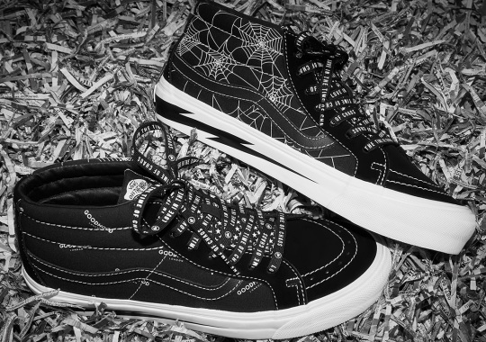 GOODHOOD And Vans To Launch Full Capsule With Cobwebs And Lightning Bolts