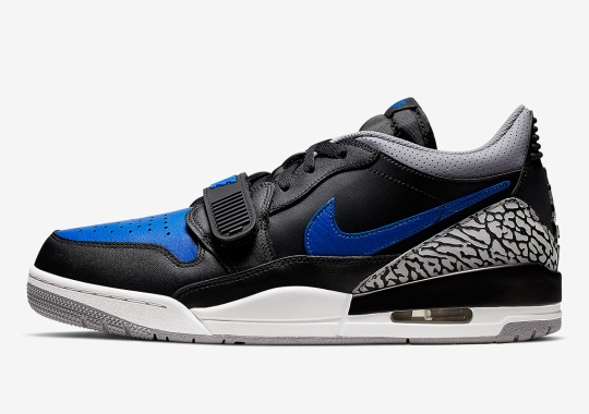 "The Jordan Legacy 312 Low Gets The ""Royal"" Look"