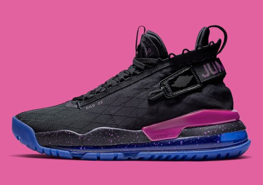 The Jordan Proto Max 720 Arrives With Purple And Royal Accents