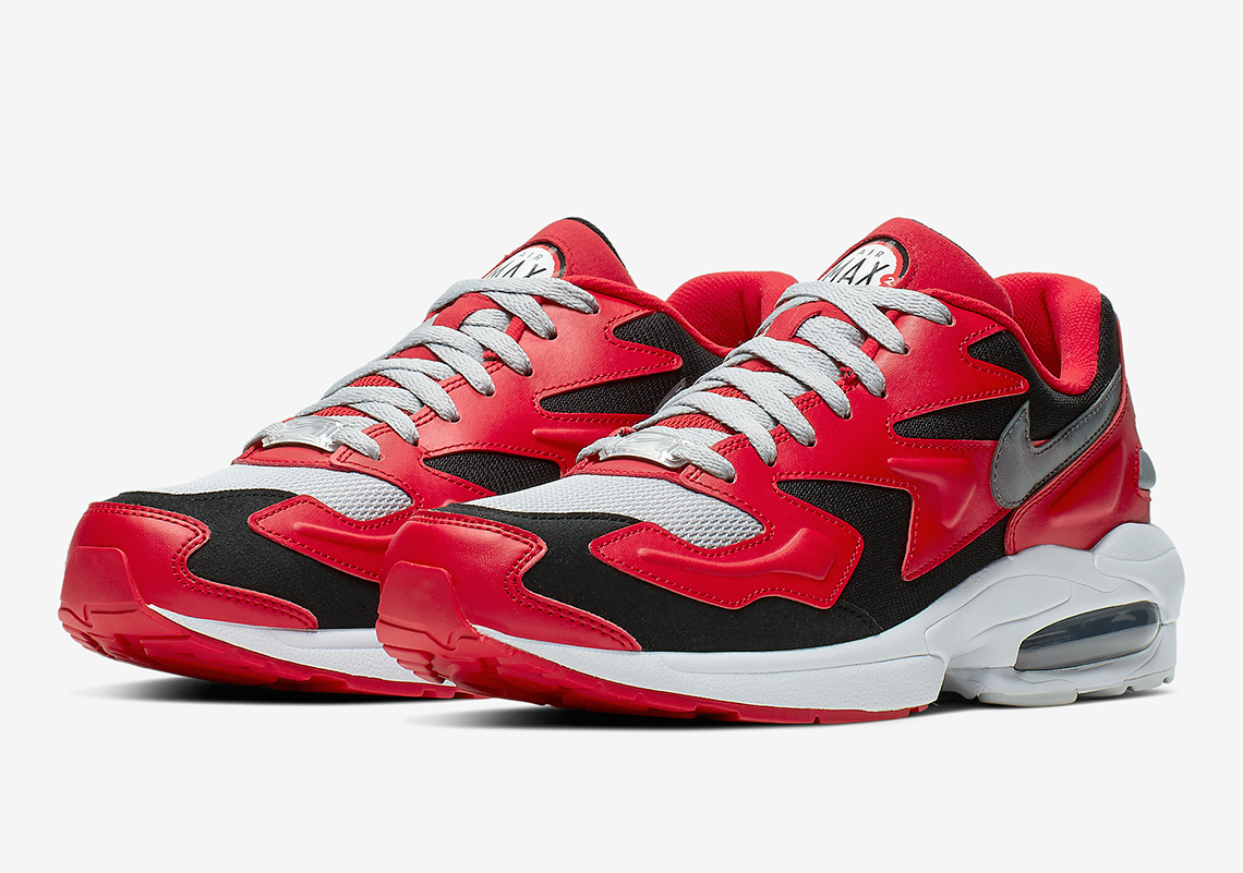 air max rosse silver